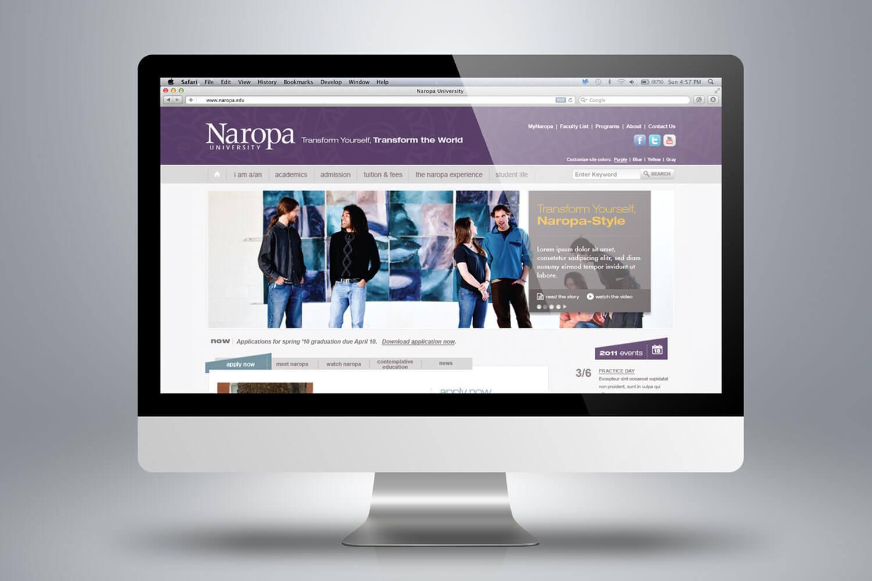 Naropa University - Website